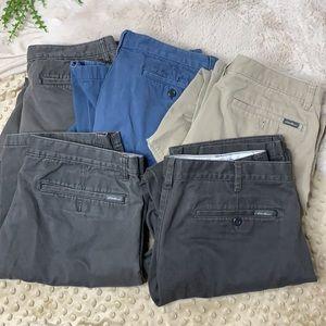 Bundle-5 Eddie Bauer Back to private school pants